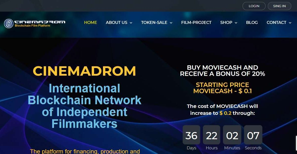cinemadrom.com