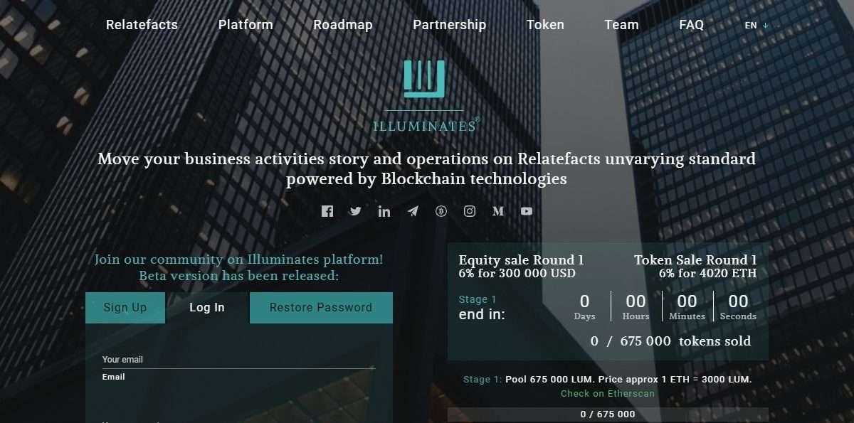 Illuminates.org Ico Review : Join community on Illuminates Platform!
