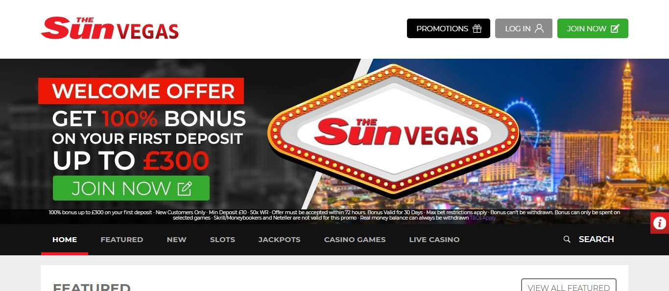 Thesunvegas Casino Review :The Sun Vegas Online Slots