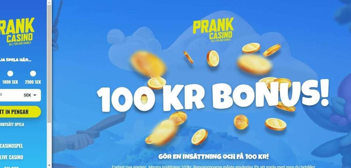 Prankcasino.com Review - 10% Cashback Every Week