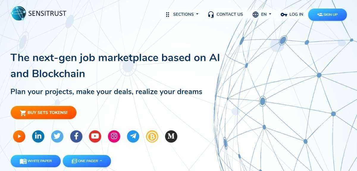 Sensitrust Ico Review - The Next-gen Job Marketplace Based on AI and Blockchain