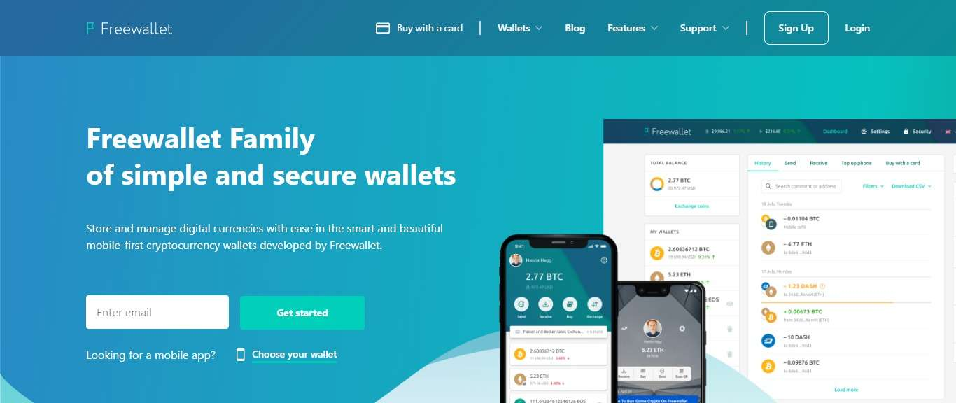 Freewallet Review - Freewallet Family of Simple and Secure Wallets