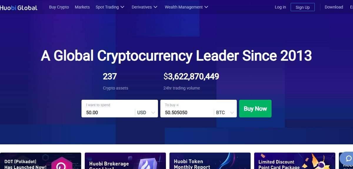 Huobi Cryptocurrency Exchange Review - Start Your Cryptocurrency Journey Today