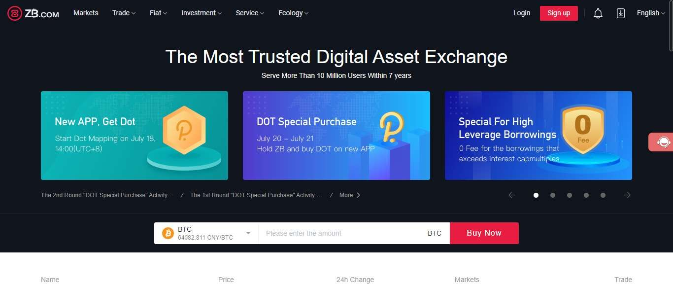 ZB.COM Cryptocurrency Exchange Review - The Most Trusted Digital Asset Exchange