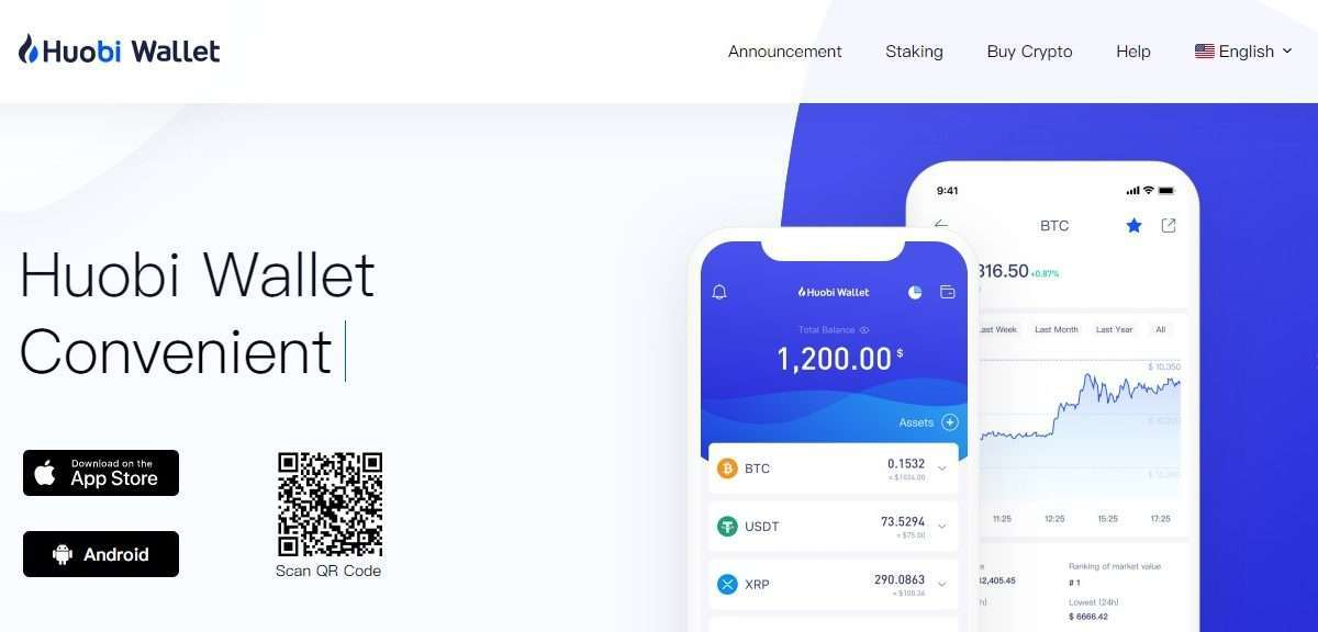Huobi Wallet Review - Huobi Wallet Multi Currency Support