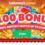 Lottomart Casino Review - Get Earn 100% Deposit Match Up To 100 Euro