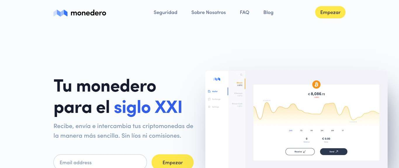 Monedero Wallet Review - With The Highest Security Standards