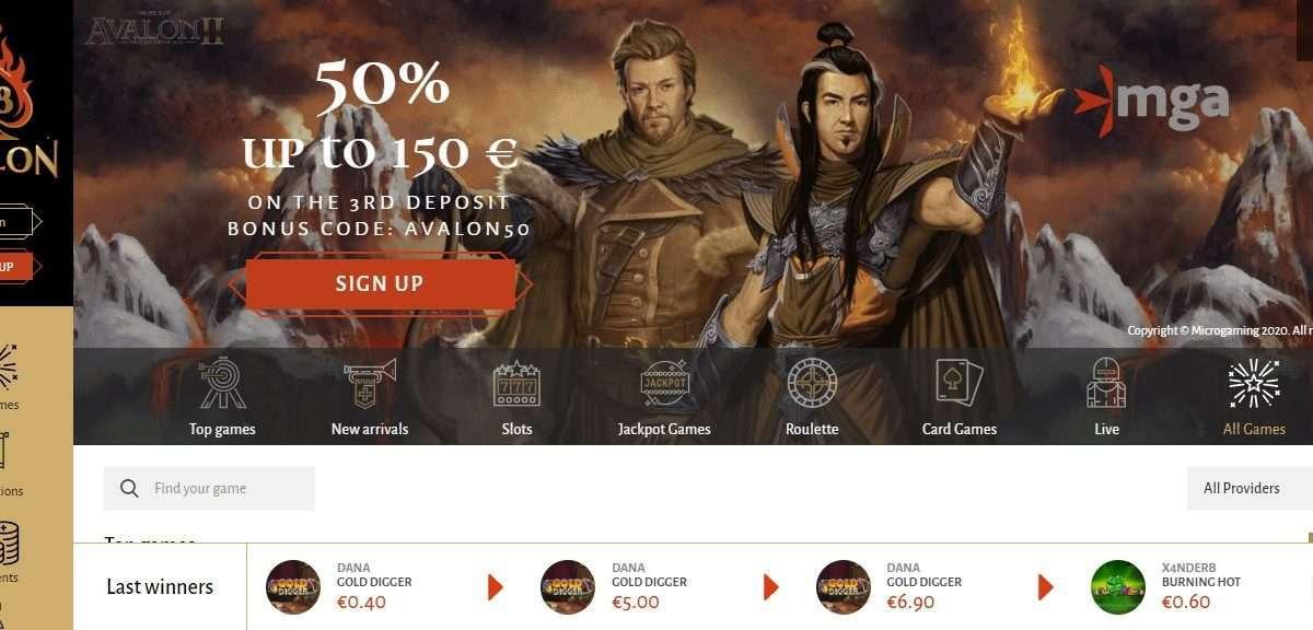 Avalon78 Casino Review - 1000 + Game 9 Provider