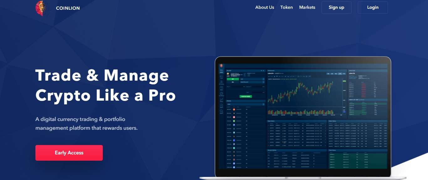 CoinLion Ico Review: Trade & Manage Crypto Like a Pro