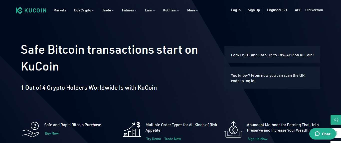 KuCoin Crptocurrency Exchange Review - Safe Bitcoin transactions start on KuCoin