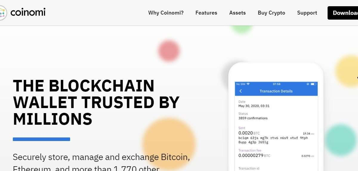 Coinomi Wallet Review - The Highest Level of Trust