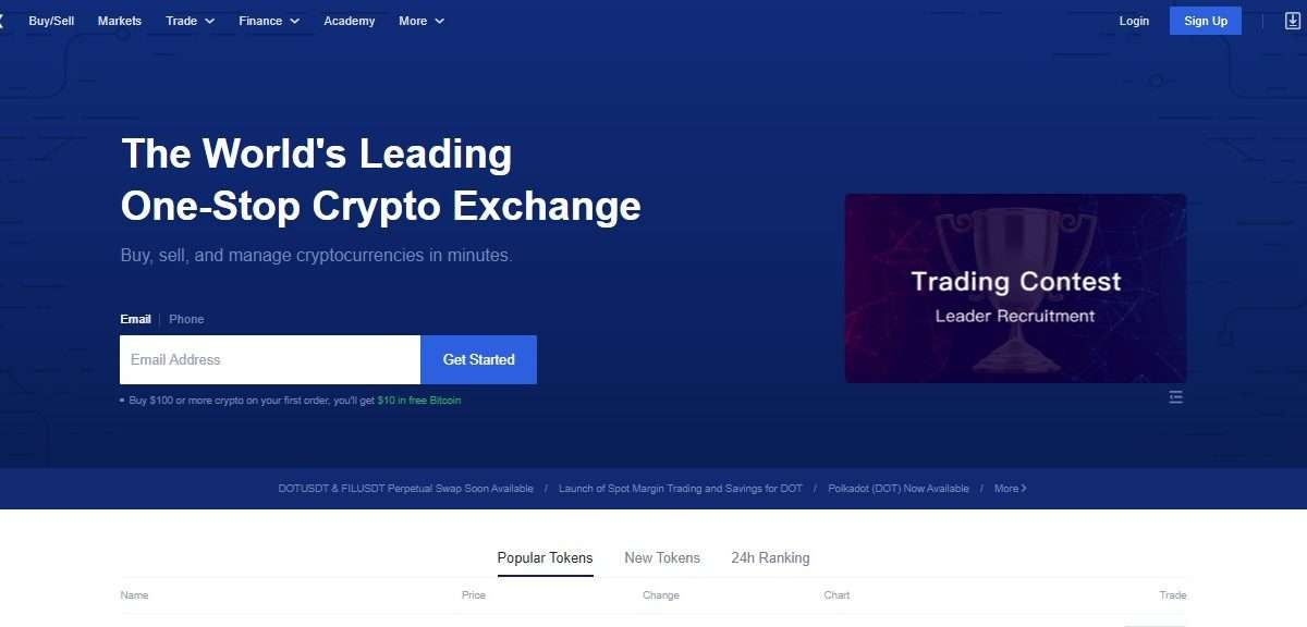 OKEx Crptocurrency Exchange Review - The World's Leading One-Stop Crypto Exchange