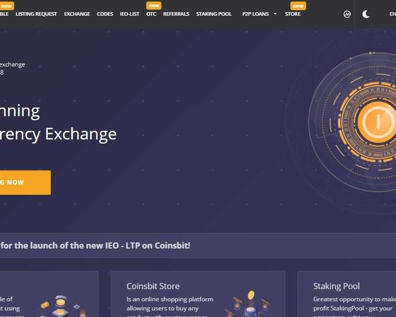 Coinsbit Cryptocurrency Exchange Review - Award-Winning Cryptocurrency Exchange