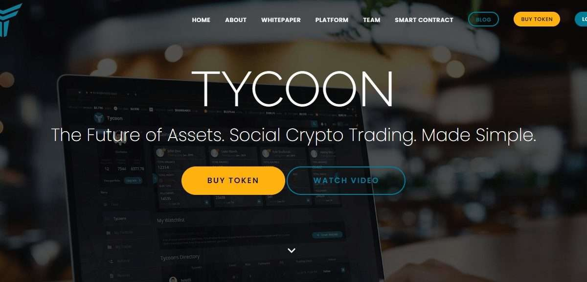 Tycoon Ico Reveiw : Professional Traders And end Users