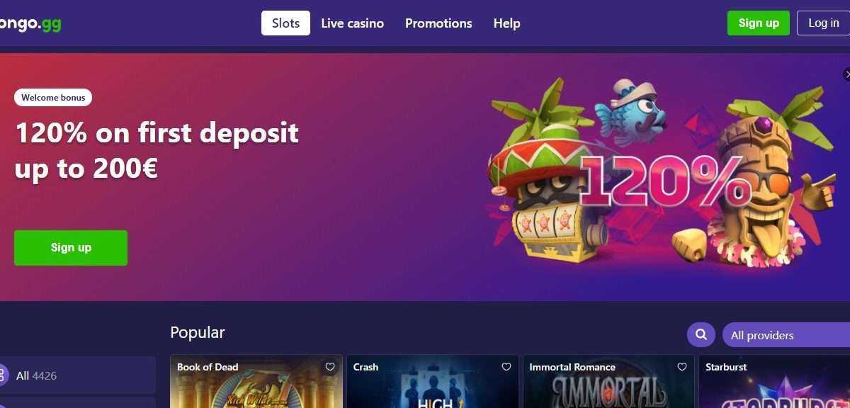 Bongo Casino Review - Put Confidentiality And Safety First