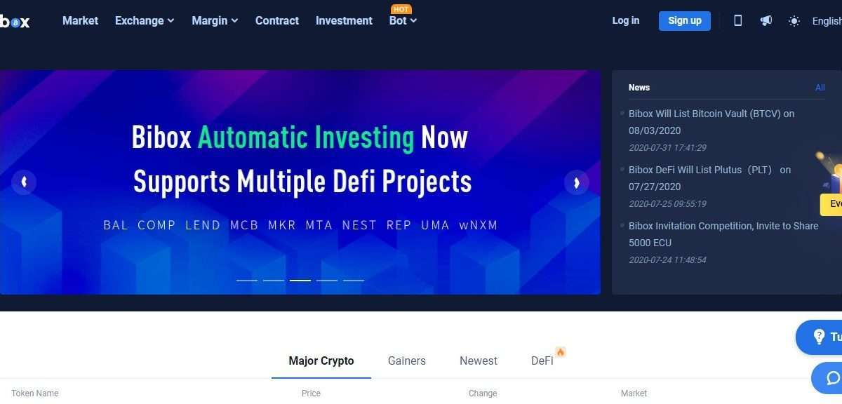 Bibox Crptocurrency Exchange Review - Sign up on Bibox, Start crypto trading