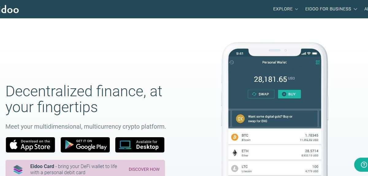 Eidoo Wallet Review