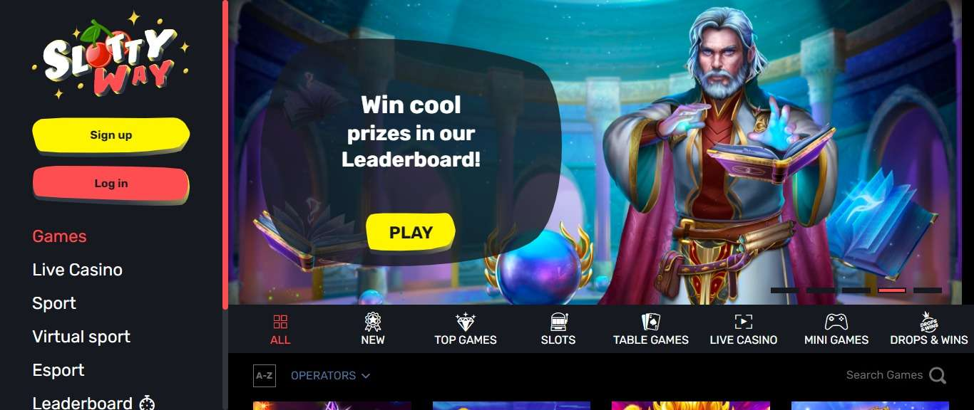 Slottyway Casino Review - Win Cool Prize In Our Leaderboard