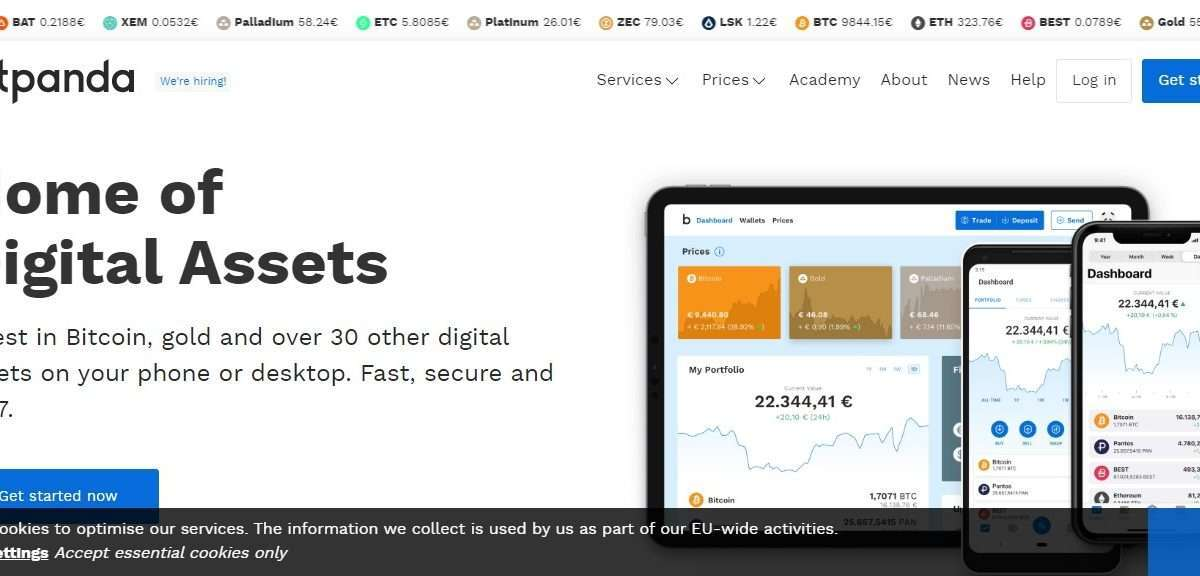 Bitpanda Wallet Review - Choose Between Many Payment And Payout Options