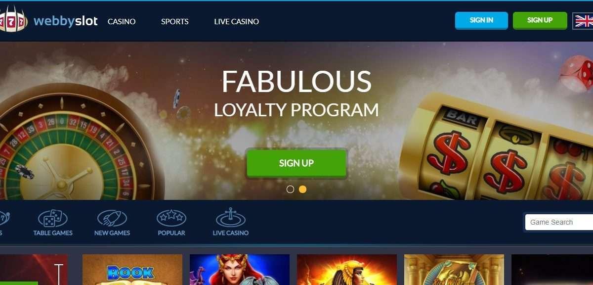 Webbyslot Casino Review - Welcome Bonus 100% + 100 Free Spins