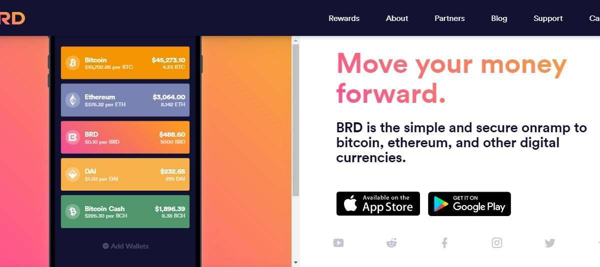 Brd Wallet Review - Move Your Money Forward