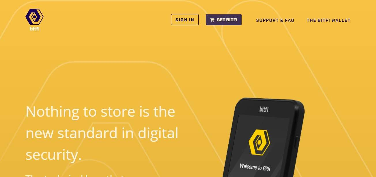 Bitfi Wallet Review - The New Standard in Digital Security.