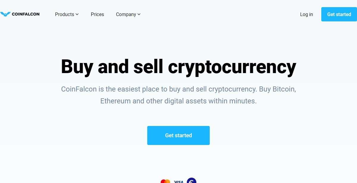Coinfalcon Cryptocurrency Exchange Review - Buy and Sell Cryptocurrency