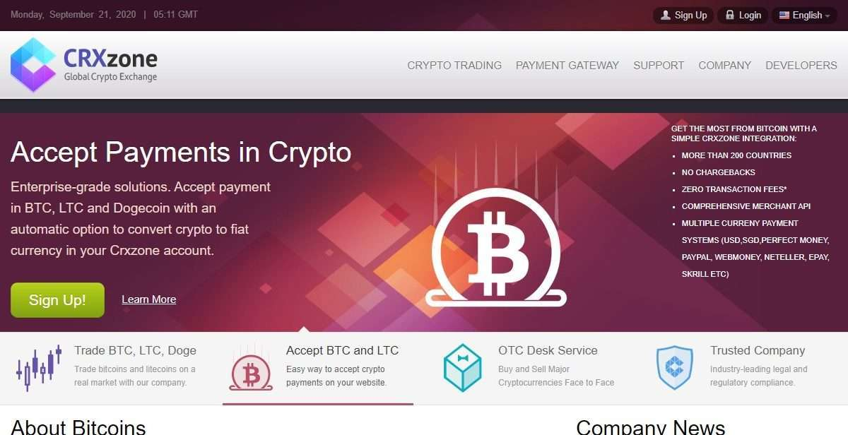 Crxzone Cryptocurrency Exchange Review - Withdrawal are Processed Automatically