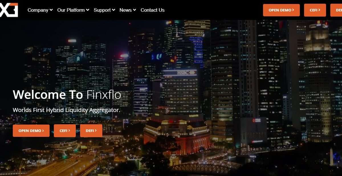 Finxflo Ico Review - Worlds First Hybrid Liquidity Aggregator.