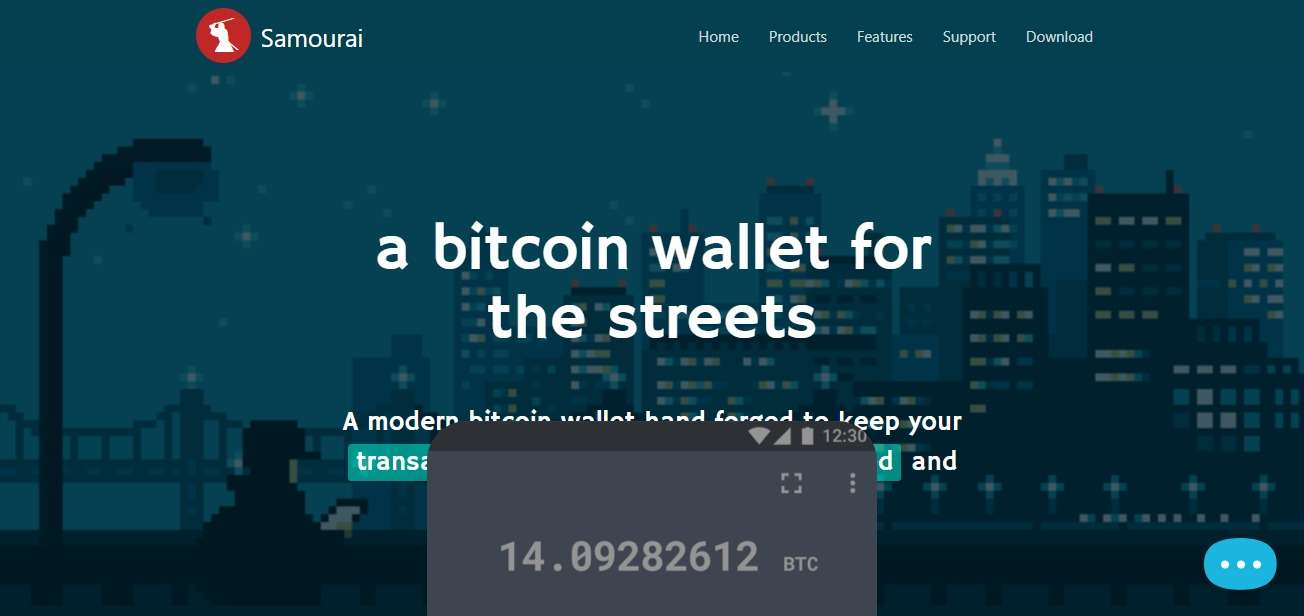 Samourai Wallet Review - A Bitcoin Wallet for The Streets