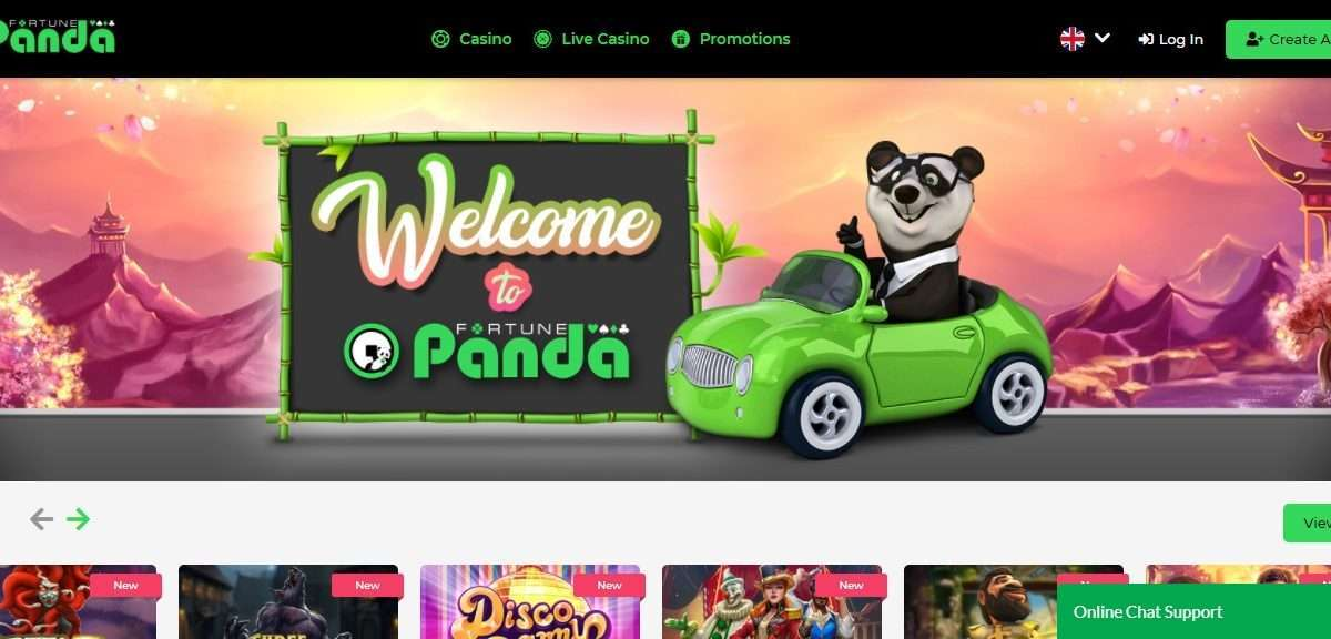 Fortune Panda Casino Review - Free Bonus up to 200€