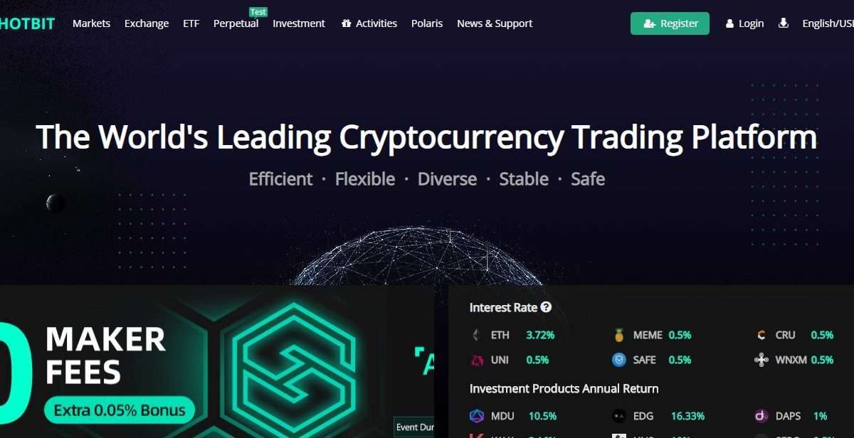 Hotbit Cryptocurrency Exchange Review - The World's Leading Cryptocurrency Trading Platform