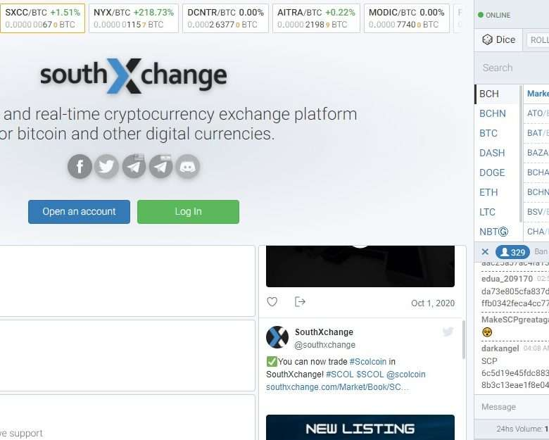 Southxchange Cryptocurrency Exchange Review - Real-time Cryptocurrency Exchange Platform