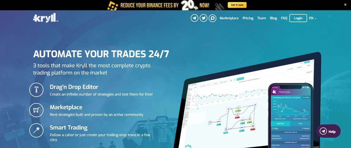 Kryll Cryptocurrency Exchange Review - The Easy Way Smart Trading