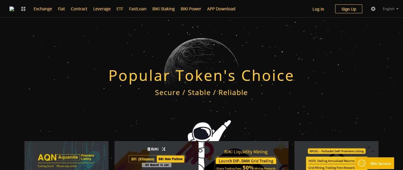 Biki Cryptocurrency Exchange Review - Popular Token's Choice