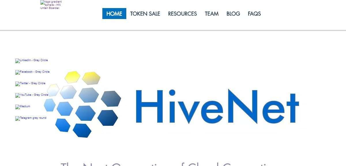 Hivenet.cloud Ico Review - The Next Generation of Cloud Computing