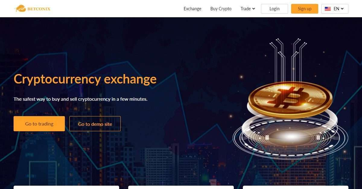 Betconix Exchange Airdrop Review: The Safest Way to buy and sell Cryptocurrency