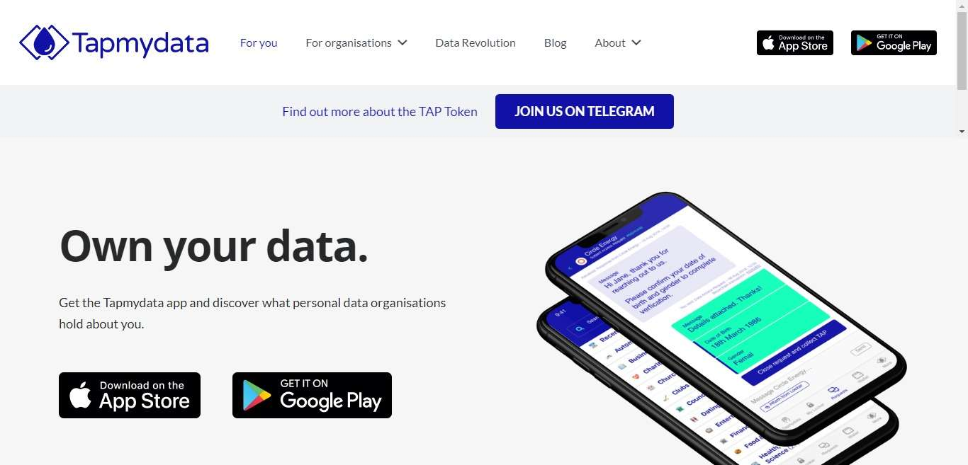 Tapmydata Ico Review - Earn Crypto From Your Data