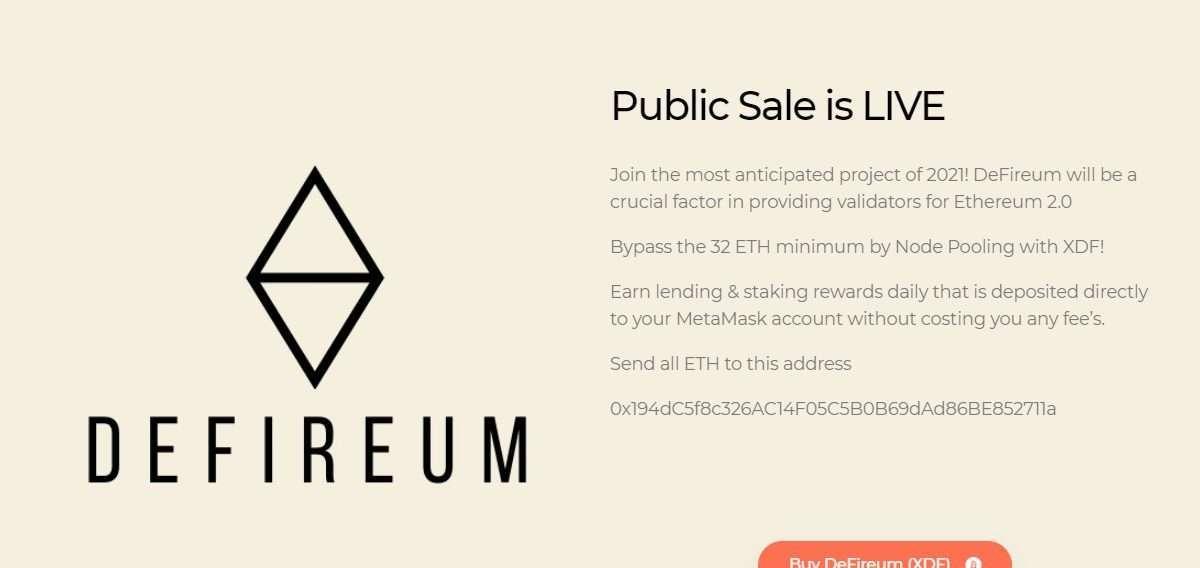 DeFireum Ico Review - Public Sale is LIVE