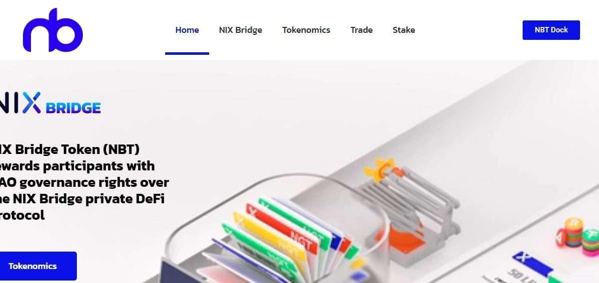 NIX Bridge Token Ico Review - NIX Bridge Token (NBT) Rewards Participants