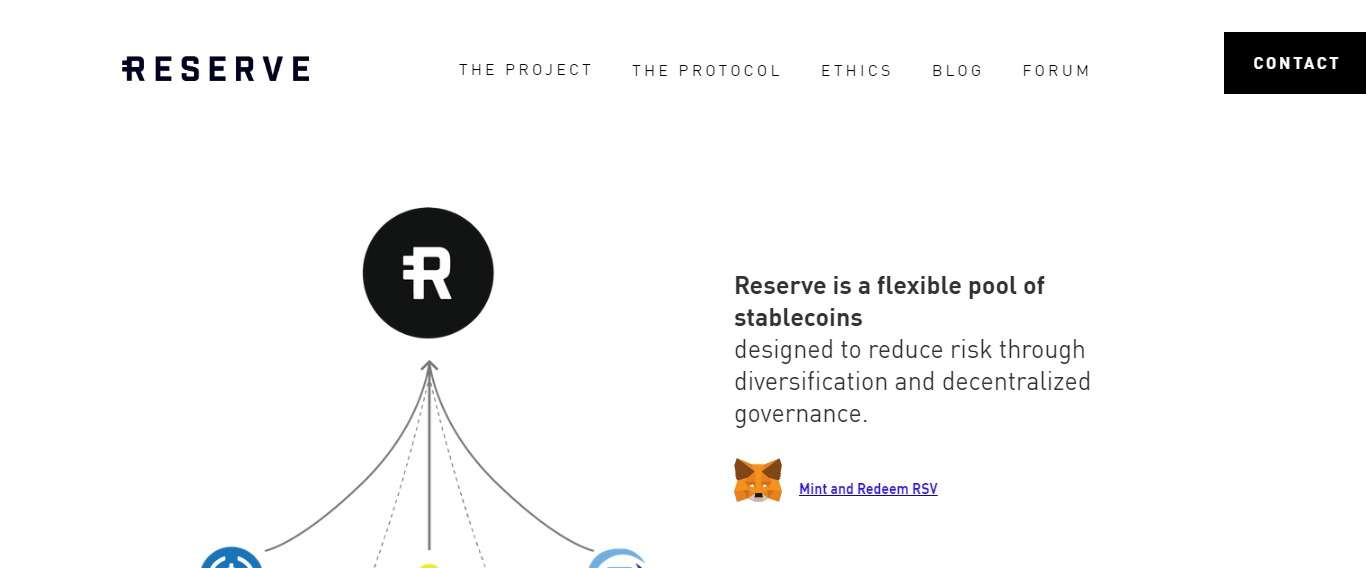 Reserve Rights Defi Coin Review : Reserve is a Flexible Pool of Stablecoins