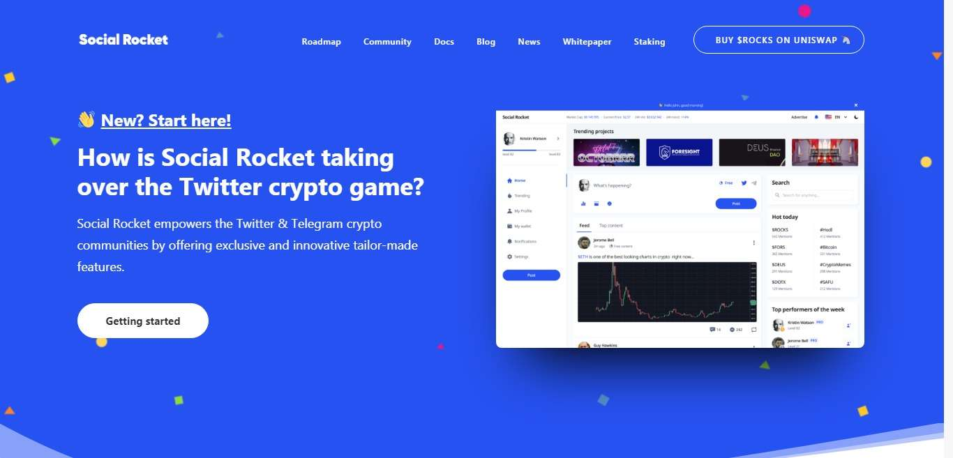Social Rocket Ico Review - Social Rocket platform