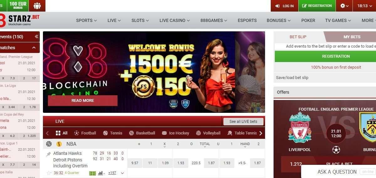 888Starz Casino Review - BIGGEST Multicurrency Blockchain Casino