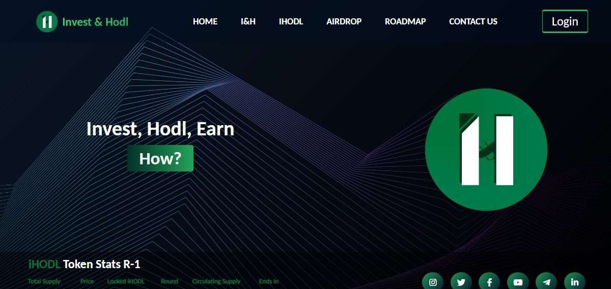 Invest & Hodl Airdrop Review: You will get 10 iHODL tokens.