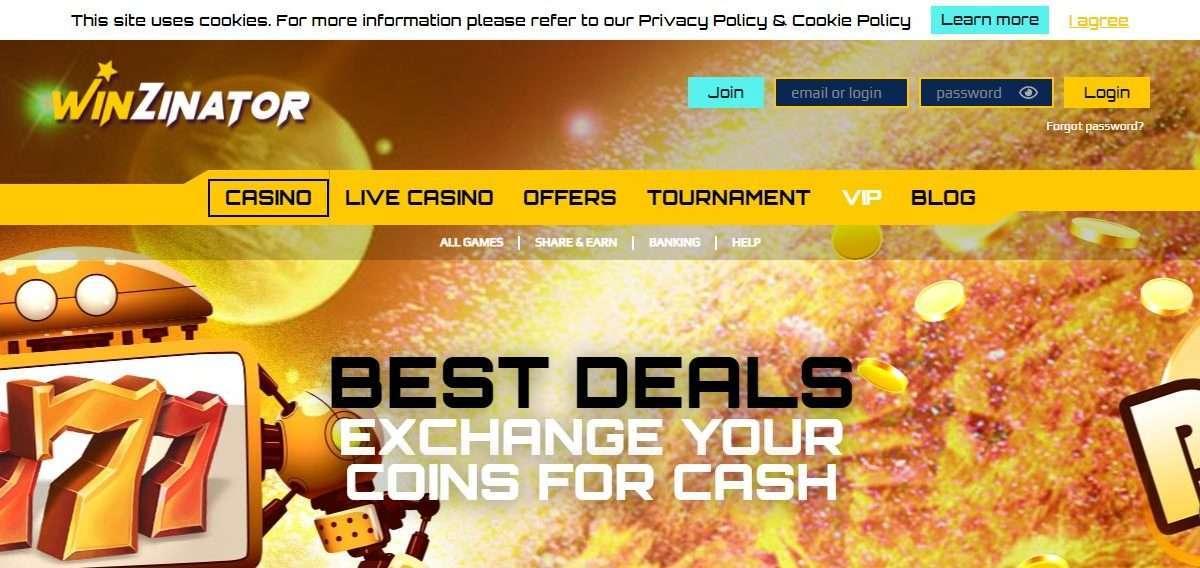 Winzinator Casino Review: 400% Bonus on Top of Your 1St Deposit