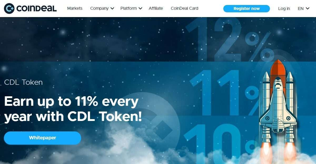 CoinDeal Token Ico Review : Vote now and earn some CDL Tokens!