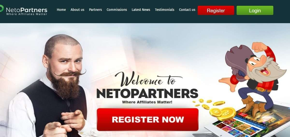 NetoPartners Affiliates Network Review: 10+ Years of Expertise in the iGaming Industry