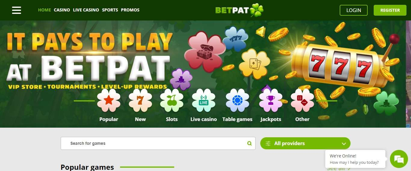 BetPat Casino Review: 50% Up To Euro 250 On Live Casino