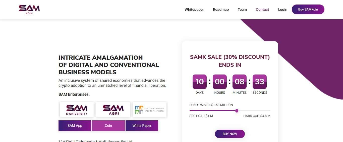 Samkoin.com Ico Review: A Unique Quality of SAMKoin Platform