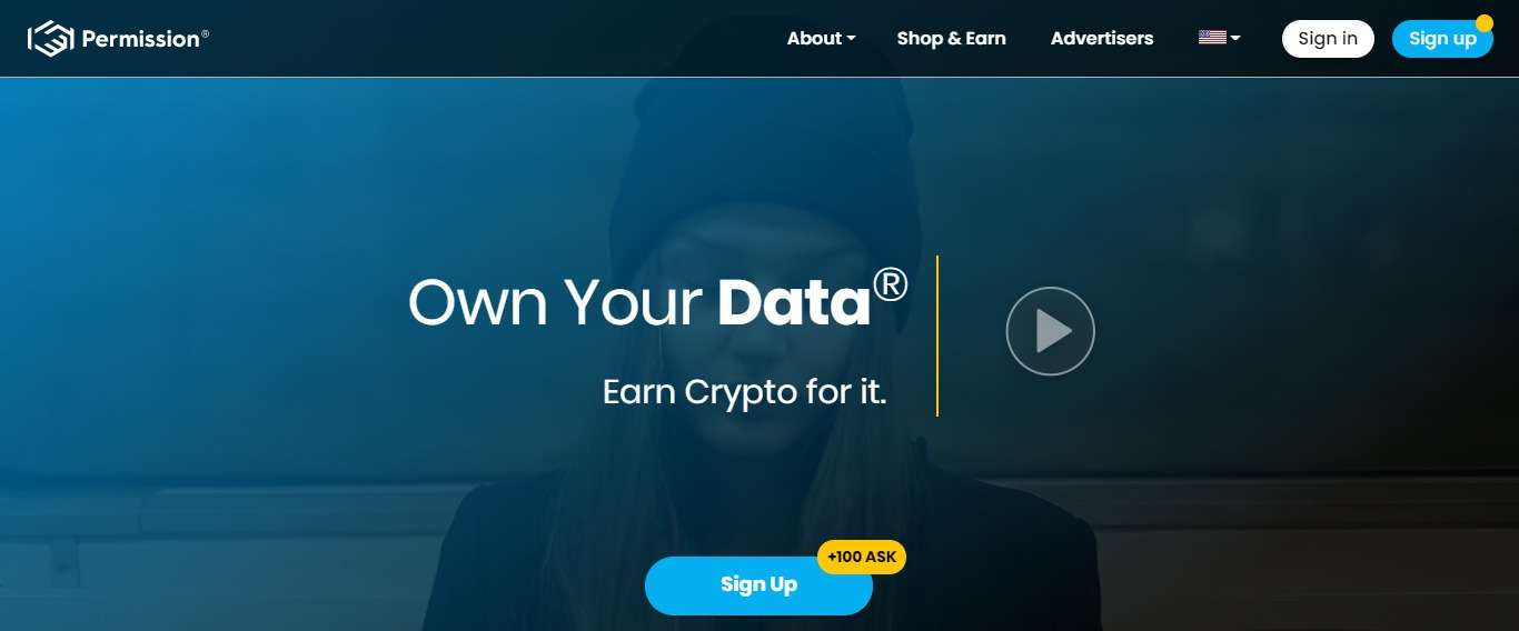 Permission Airdrop Review: Own Your Data Earn Crypto for it